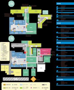 香川大学医学部付属病院 フロアマップ